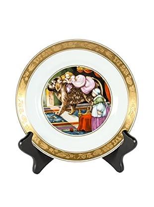 H.C. Andersen Tinderbox Fairytale Plate