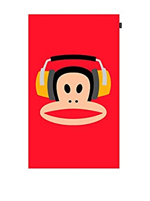 Paul Frank Toalla De Playa Headphones (Rojo)
