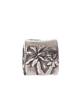 Bacio Abalorio de Plata de Ley 925  Palmeras Rosca