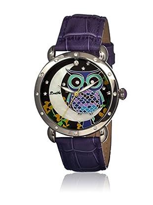 Bertha Uhr mit Japanischem Quarzuhrwerk Ashley violett 41 mm