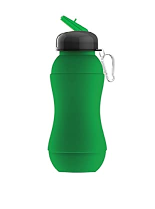 AdNArt Sili-Squeeze Collapsible Silicone Hydra Bottle (Green)