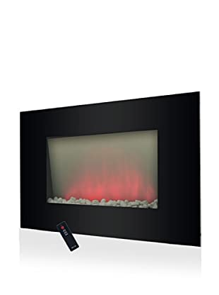 Trademark Global Verona Color-Changing Electric Fireplace Heater
