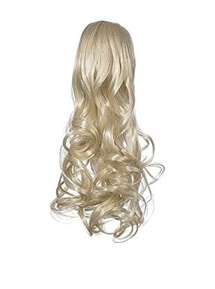 Love Hair Extensions Kunsthaar-Pferdeschwanz Gushy Bird mit Krokodilklemme 35cm 27 Rich Blonde