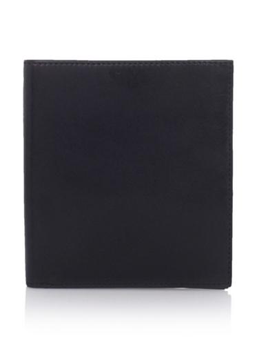 Bosca Men's 12-Pocket Credit Wallet, Black