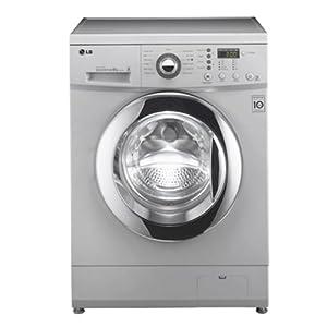 LG 6.5 Kg F12B4WDP25 Front Loading Fully Automatic Washing Machine-Luxury Silver