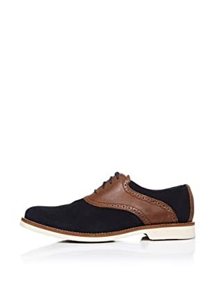 Dockers Zapatos Oxford (Azul Marino)