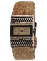 Fastrack Metalhead Analog Brown Dial Women's Watch - 6082KL01