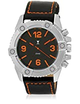 Sd 7029-Orng01 Black/Black Analog Watch Dvine