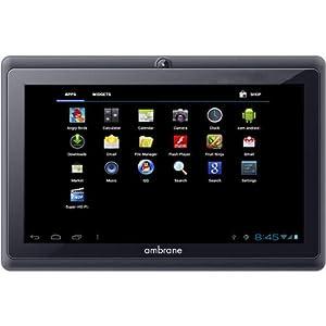 ambrane a-7 tablet (4 gb, black)