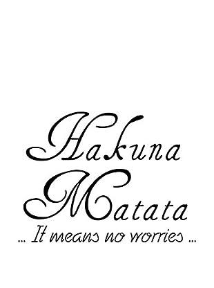 Ambiance Sticker Wandtattoo Hakuna Matata