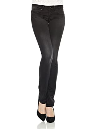 Pepe Jeans London Pantalón Vaquero New Brooke (Negro)