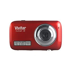 Vivitar 2.1 MP Digital Camera, Colors and Styles May Vary