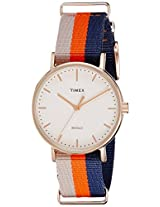 Timex Weekender Fairfield Analog White Dial Women's Watch - TW2P91600AA