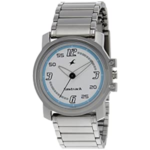 Fastrack Upgrades Analog White Dial Men's Watch - NE3039SM07
