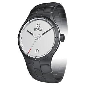 オバック OBAKU メンズ V111GBWSB 腕時計