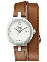 Tissot Women's T0842101601704 Pinky Analog Display Swiss Quartz Brown Watch