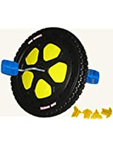 """BLACK FRONT WHEEL 16"""" Diameter Replacement Parts Kit Assembly for The Original Big Wheel WITH Pedal"""