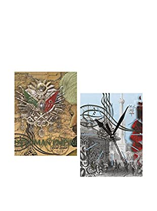 Dekorjinal Set, 4-teilig dekoratives Bild Tds19 (mehrfarbig)