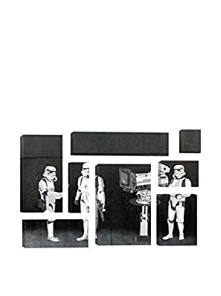 Banksy Stormtroopers Filming Oscars 8-Piece Giclée On Canvas