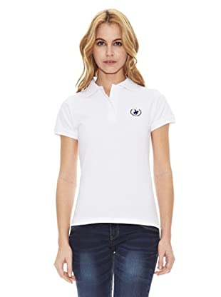Polo Club Polo Manga Corta Regular Fit Classic (Blanco)