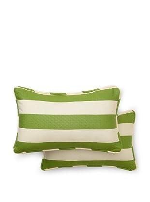 Set of 2 Solstice Rectangle Decorative Throw Pillows (Cactus)