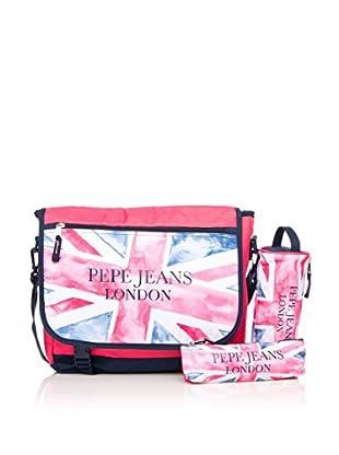 Pepe Jeans Set de bolso bandolera + 2 estuches Multicolor