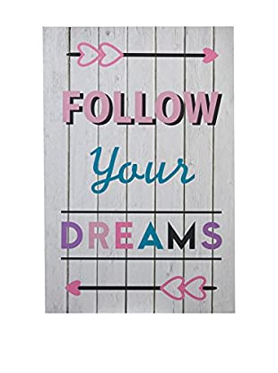 Premier Interior Panel Decorativo Kids Follow Your Dreams