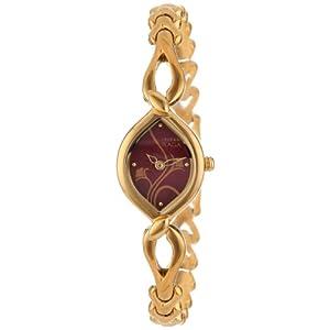 Titan Raga Analog Red Dial Women's Watch - NE2455YM02