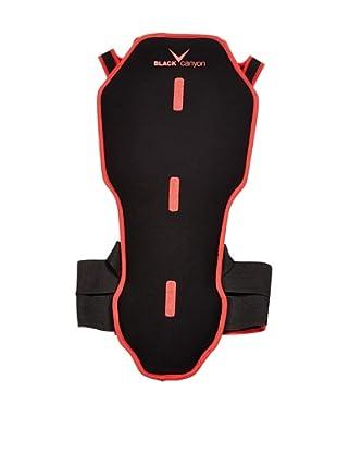 Black Canyon Protector Dorsal Soft (Negro / Rojo)