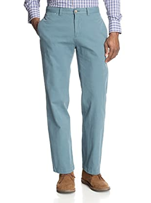 Maker & Company Men's The Keck Flat Front Twill Washed Pant (Ocean)