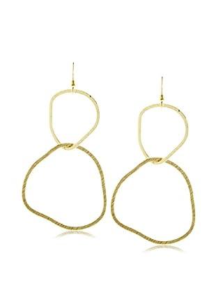 Charlene K Irregular Circle Earrings