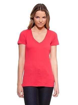 Timeout Camiseta Pico (Coral)
