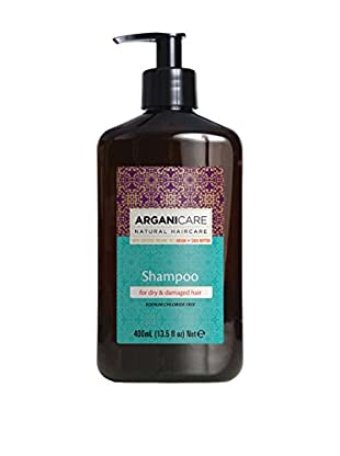 ARGANICARE Champú For Dry & Damaged Hair 400 ml