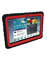 Gumdrop Cases Drop Tech Series Case for 10.1-Inch Samsung Galaxy Tab 2 Black/Red DT-SAMTAB2-BLK-RED