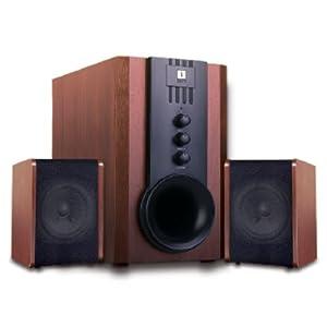 iBall Tarang 2.1 USB on Top Full Wood Speaker