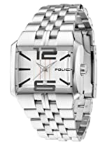 Police Analog White Dial Men's Watch - PL10812JS/04M