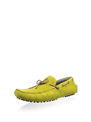 Ted Baker Men's Talpen Driving Shoe (Yellow Suede)