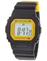 Spencer Unisex 0T01Blk Open Track Digital Black Watch