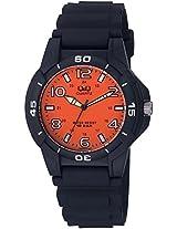 Q&Q Regular Analog Orange Dial Men's Watch - VQ84J010Y
