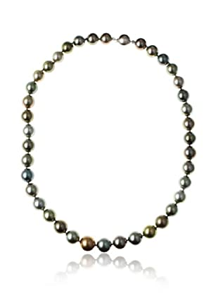 Radiance Pearl AAA Quality Multicolor Tahitian South Sea Pearl Necklace