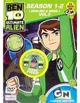 Ben 10 Ultimate Alien Season 1-2 Episode 11 to 15 - Vol. 3