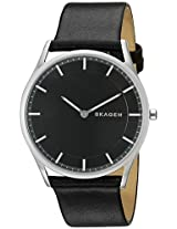 Skagen Analogue Black Dial Men's Watch - SKW6220