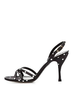 Dolce & Gabbana Sandalias Topos (Negro)