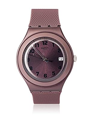 Swatch Quarzuhr Unisex Unisex Unisex BROWN EFFECT YGC4001 38.0 mm