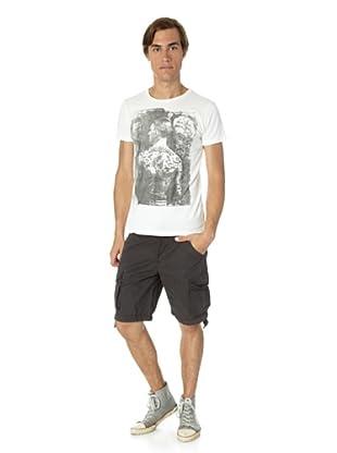 JACK & JONES Camiseta Jack Slim fit (Blanco)