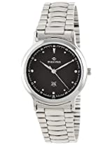 Maxima Attivo Analog Black Dial Men's Watch - 10051CMGI