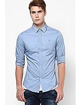 Blue Solid Casual Shirt G-star Raw