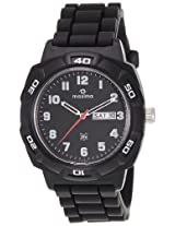 Maxima Analog Black Dial Men's Watch - 27813PPGW