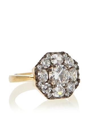 KiraKira Deco Black & Gold Ring