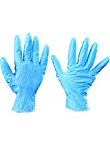 Aviditi GLV2013L Nitrile Industrial Grade Gloves Powder-Free, Blue, Large (Case of 100)
